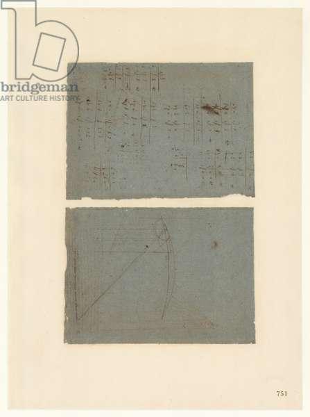 Codex Atlanticus, sheet 751 recto