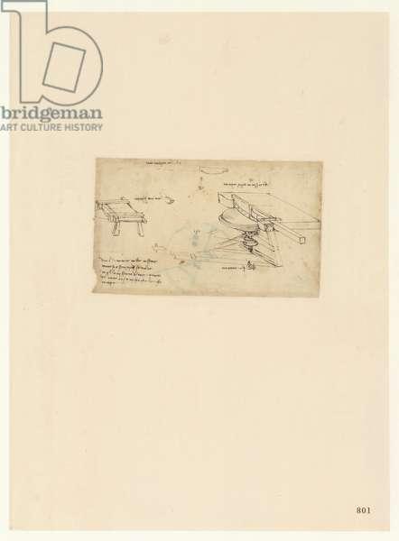 Codex Atlanticus, sheet 801 recto
