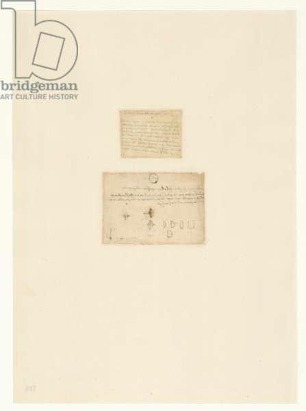 Codex Atlanticus, sheet 510 verso