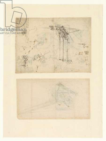 Codex Atlanticus, sheet 67 verso