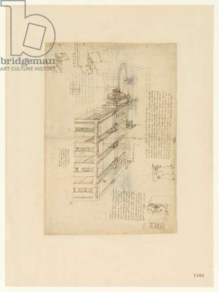 Codex Atlanticus, sheet 1105 recto