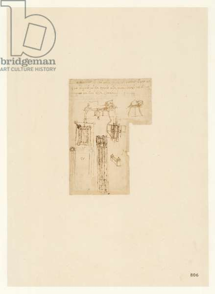 Codex Atlanticus, sheet 806 recto