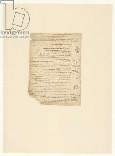 Codex Atlanticus, sheet 515 verso