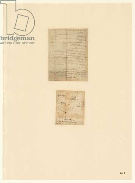 Codex Atlanticus, sheet 611 recto