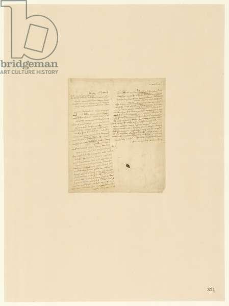 Codex Atlanticus, sheet 321 recto