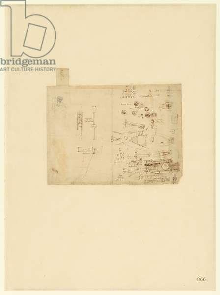 Codex Atlanticus, sheet 866 recto