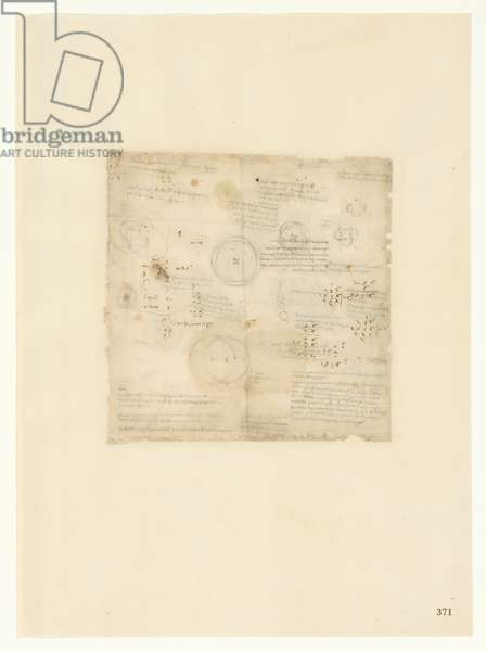 Codex Atlanticus, sheet 371 recto