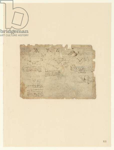 Codex Atlanticus, sheet 121 recto