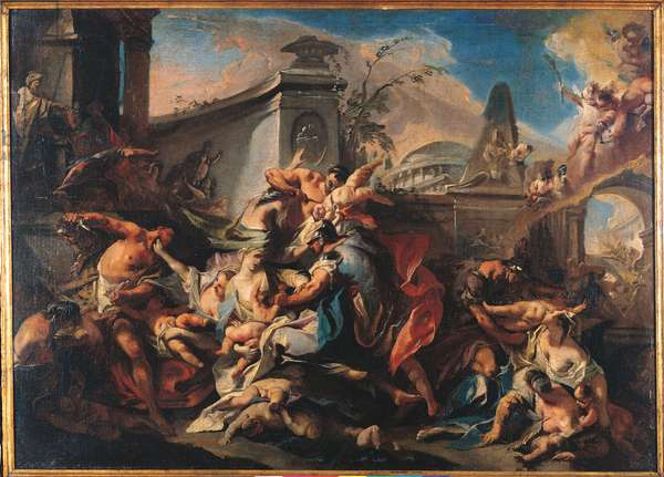 The Massacre of the Innocents, c.1750 (oil on canvas)