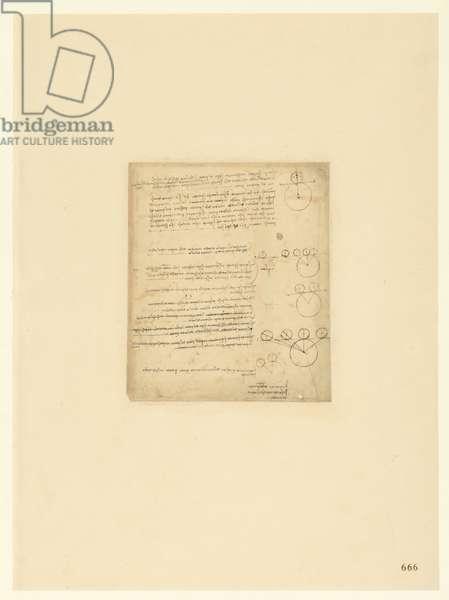 Codex Atlanticus, sheet 666 recto