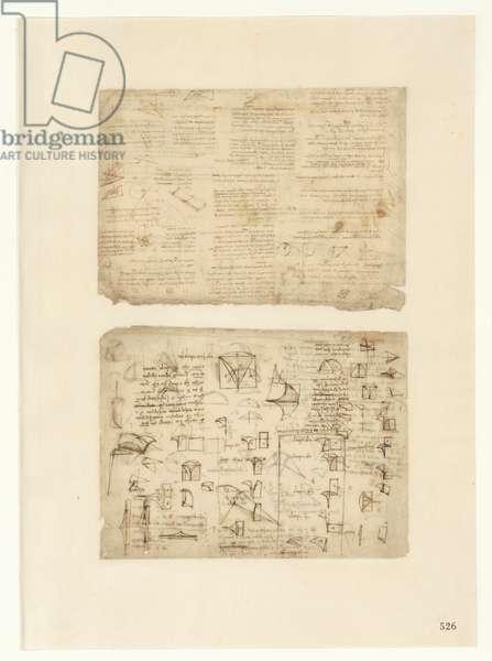 Codex Atlanticus, sheet 526 recto