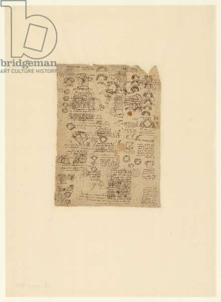 Codex Atlanticus, sheet 621 verso