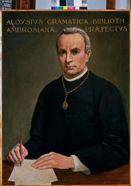 Portrait of Luigi Gramatica, c.1924 (oil on canvas)