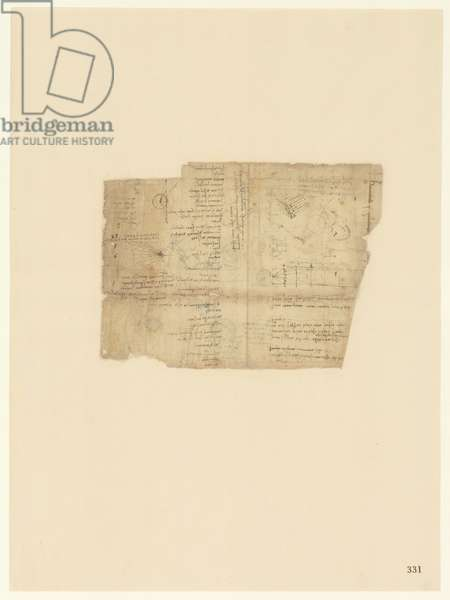 Codex Atlanticus, sheet 331 recto