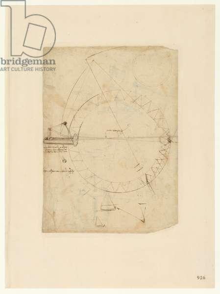 Codex Atlanticus, sheet 926 recto