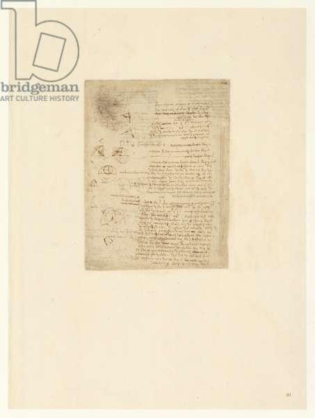 Codex Atlanticus, sheet 81 recto