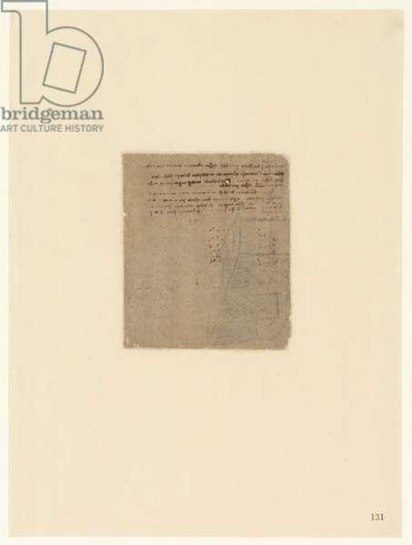 Codex Atlanticus, sheet 131 recto