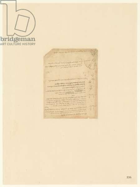 Codex Atlanticus, sheet 336 recto