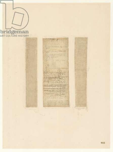 Codex Atlanticus, sheet 981 recto