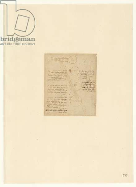 Codex Atlanticus, sheet 536 recto