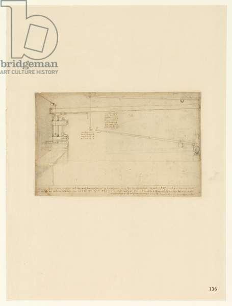 Codex Atlanticus, sheet 136 recto