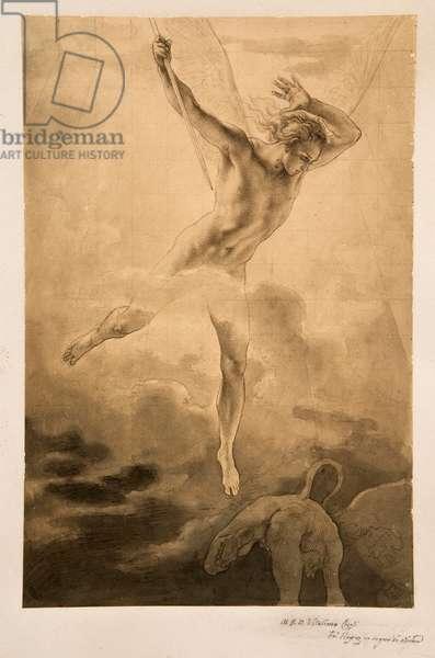 The Archangel Michael (pen & ink)