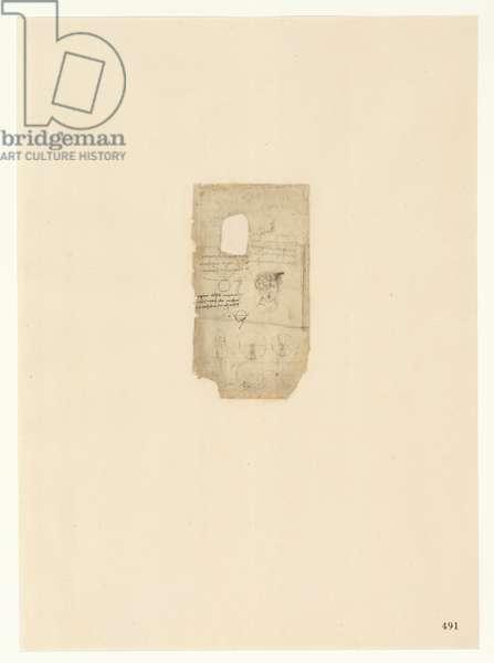 Codex Atlanticus, sheet 491 recto