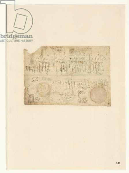 Codex Atlanticus, sheet 541 recto