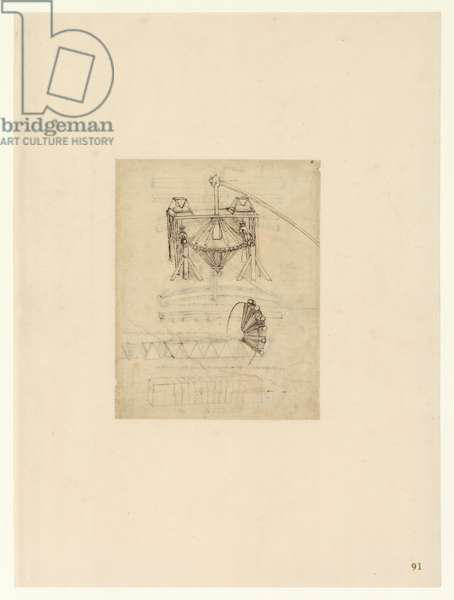 Codex Atlanticus, sheet 91 recto