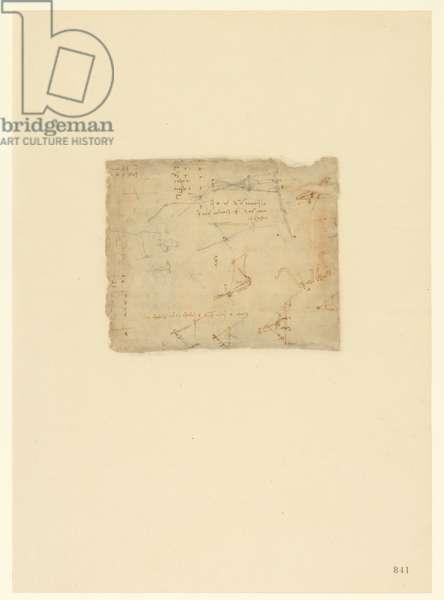 Codex Atlanticus, sheet 841 recto