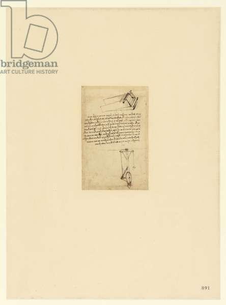 Codex Atlanticus, sheet 891 recto