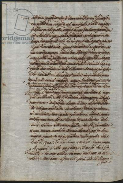 Page from the Treatise on Painting