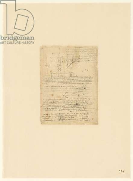 Codex Atlanticus, sheet 546 recto