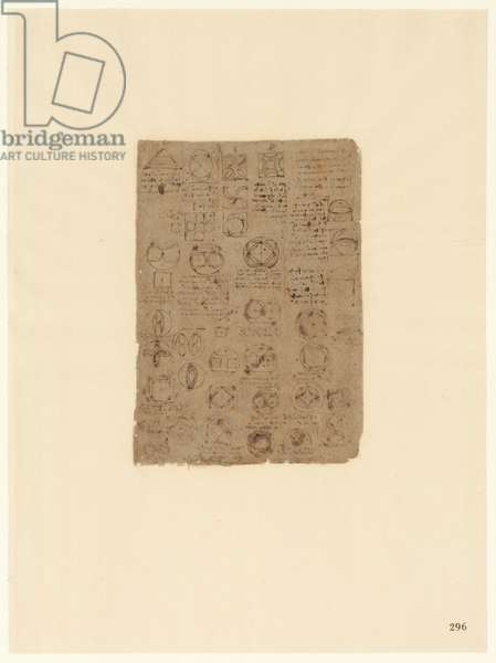 Codex Atlanticus, sheet 296 recto