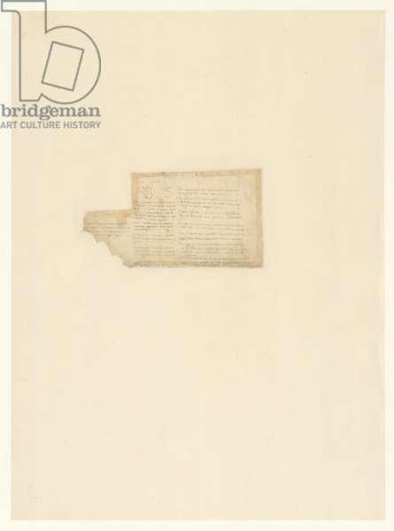 Codex Atlanticus, sheet 791 verso