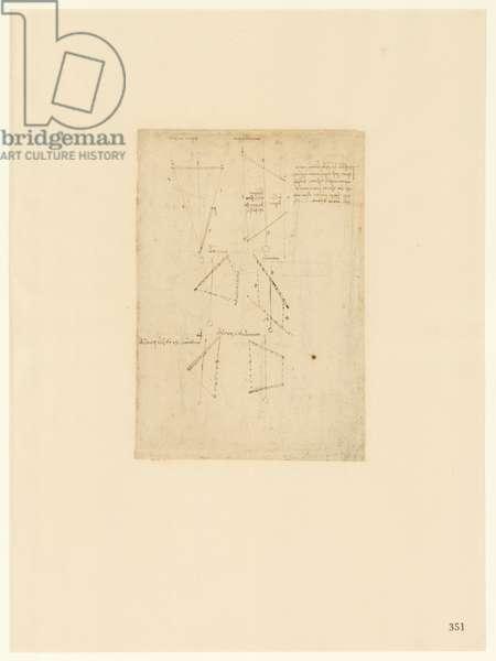 Codex Atlanticus, sheet 351 recto