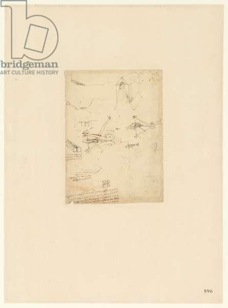 Codex Atlanticus, sheet 896 recto