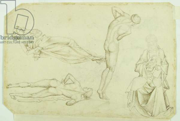 Drawing of Four Figures