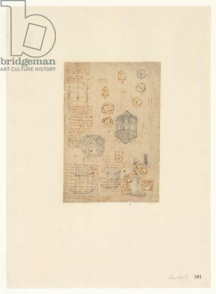 Codex Atlanticus, sheet 501 recto