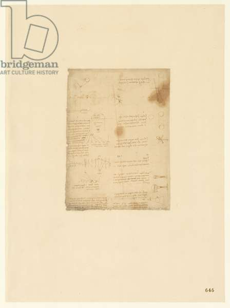 Codex Atlanticus, sheet 646 recto