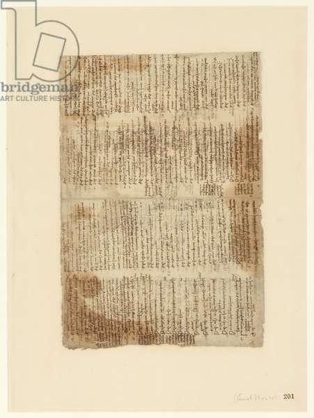 Codex Atlanticus, sheet 201 recto