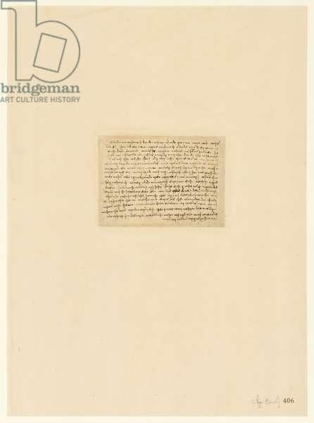 Codex Atlanticus, sheet 406 recto