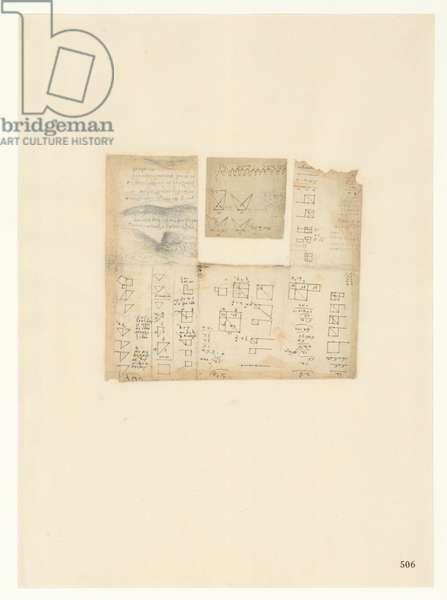 Codex Atlanticus, sheet 505 recto