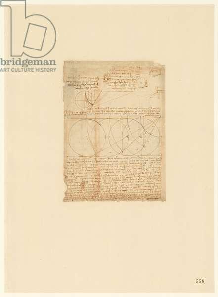 Codex Atlanticus, sheet 556 recto