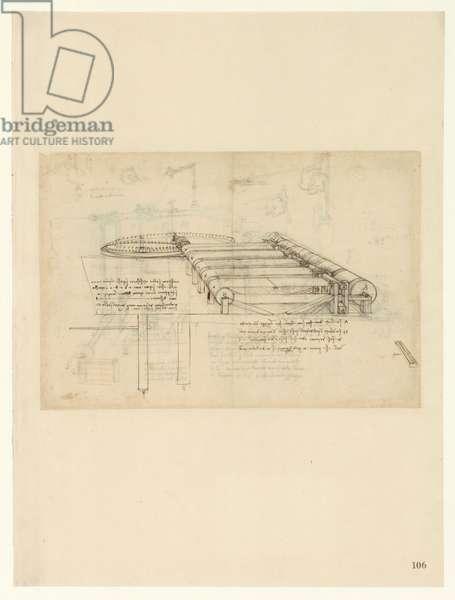 Codex Atlanticus, sheet 106 recto