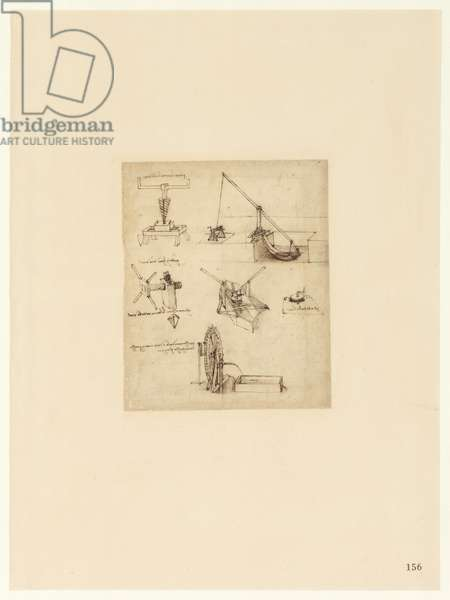 Codex Atlanticus, sheet 156 recto