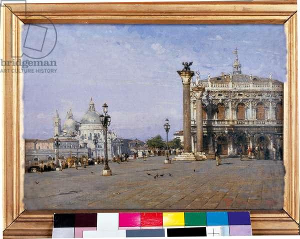 Memory of Venice, 1883 (oil on panel)