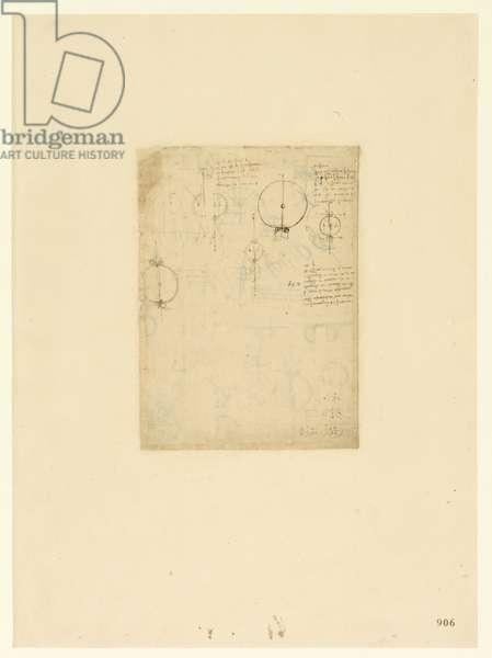 Codex Atlanticus, sheet 906 recto