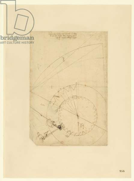 Codex Atlanticus, sheet 956 recto