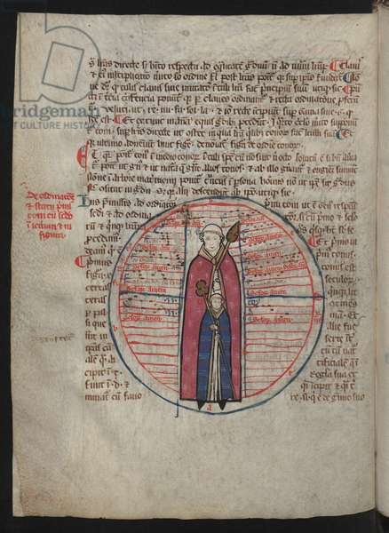 Page with illumination from the Scientia artis musicae